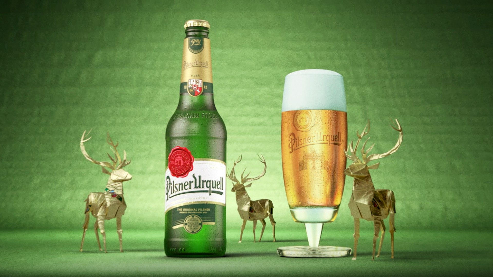 Deer nature, Pilsner Urquell knows a small detail can change everything.